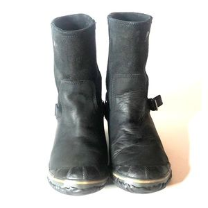 Sorel Women's Size 9 SlimShortie Boots Leather